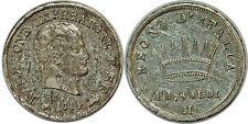 ITALIE  10 SOLDI 1814 M C#6.1 NAPOLEONIDE
