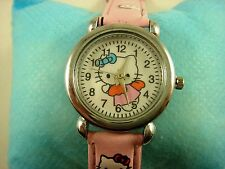 Wholesale NEW Fashion Wrist Quartz Watch Wristwatch For Hello Kitty + Pendant