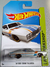HOT WHEELS 1969 FORD TORINO TALLADEGA - DIE CAST RACE CAR - BRAND NEW IN BOX