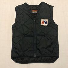 Vintage American Airlines Blue Nylon Vest Mens Small (NC2)