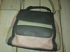 BETTY BARCLAY Large Shoulder Bag - Taupe (beige)/Grey/ Dusty Rose_ GORGEOUS