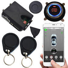 smart phone app start stop car enging rfid car alarm with transponder tags