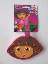NWT-Dora the Explorer-Pink Bag/Backpack/Luggage ID Tag-Stocking Stuffer/Favor