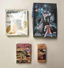 Japanese Anime Manga Dragon Ball Z World Tank Gerwalk Super VF-1 Macross Toy Lot
