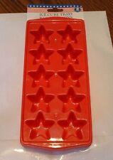 Stars-set of 2 Plastic Ice cube tray or Jello -NEW