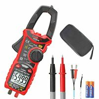 KAIWEETS Digital AC Clamp Meter T-RMS 6000 Counts, Multimeter Voltage Tester 206