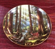 God Bless America SUNLIT RETREAT Rudi Reichardt Collectible Plate
