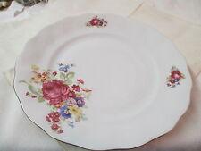 Vintage Poland Favolina porcelain Bread Butter Plate pink Roses flowers FAV2