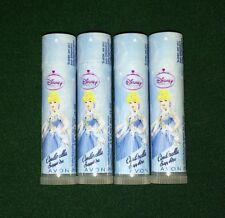 Avon (Qty 4) Disney Princess CINDERELLA Sapphire Lip Balm (Grape) Chap Stick