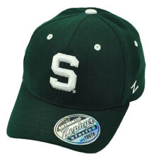 size 40 83196 4ff07 NCAA Zephyr Michigan State Spartans Flex Fit XLarge Hat Cap Stretch Green