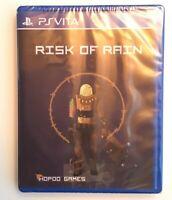 Risk of Rain Playstation Ps vita LR-V25 Limited Run Games NEW