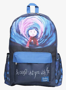 Loungefly Coraline Tunnel Careful What You Wish For Backpack Book Bag Full Size