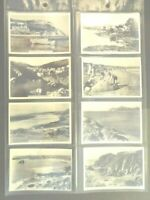 1938 HOLIDAY HAUNTS BY THE SEA Britain Senior Service Tobacco Card Set 48 cards