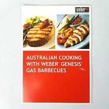 Australian Cooking with Weber Genesis Gas Barbecues Book By Stephen Weber Recipe