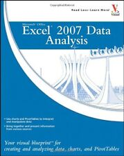 Microsoft Office Excel 2007 Data Analysis: Your Visual Blueprint for Creating an