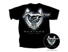 Mustang 45th Anniversary T-Shirt in Black - Discontinued ON SALE! Free Shipping!