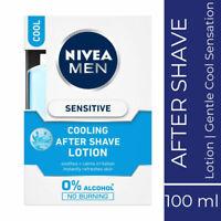 Nivea Men Sensitive Cooling After Shave Lotion 100ml refreshes skin Feels Good