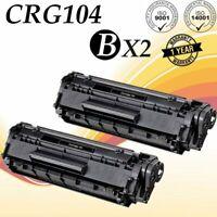 2 PK 104 Toner Cartridges FX9 For Canon 104 ImageClass MF4150 MF4350D D420 D480