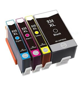Full Set 934XL, 935XL compatible Ink Cartridges For HP Officejet Pro 6230  6830