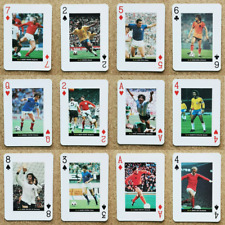 World Cup Greats Football Players Playing Card - Various Countries Teams