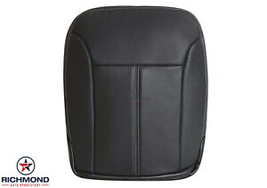2007 2008 2009 Mercedes Benz GL550 -Driver Side Bottom Leather Seat Cover Black