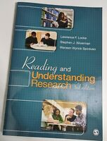 Reading and Understanding Research by Stephen J. Silverman, Lawrence F. Locke...
