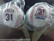 MIKE PIAZZA NEW YORK METS HALL OF FAME SOUVENIR BASEBALL 9/29/13 BRAND NEW #31