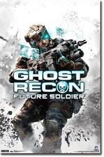 Ghost Recon Future Soldier Poster Print 22x34 TR1762