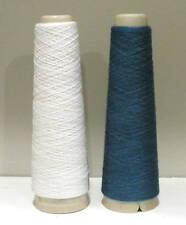 Habu Kit78 Kusha Felted Scarf Kit White/#3023 Sky Blue