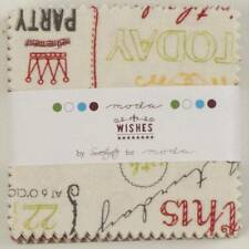 "Moda Mini Charm Pack   ~  Wishes  ~  Sweetwater    2.5"" x 2.5"""