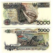 INDONESIEN INDONESIA 5000 RUPIAH 1992/1998 UNC P 130 g