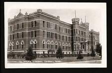 Carroll Iowa IA c1925 RPPC St Angelica Academy Main Bdg
