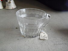 """Vintage Heisey Glass Punch Bowl Cup 2"""" Tall"""
