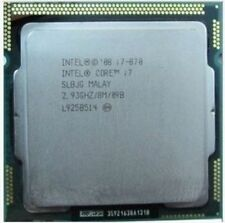 CPU Intel Core i7 870 2.93GHz  8MB 2.5GT/s SLBJG LGA1156 CPU Processor