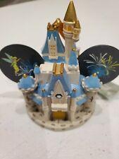 New ListingDisney Cinderella Castle Tinkerbell Mickey Ear Christmas Light-Up Ornament New