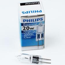 Philips JC 12V20W G4 Clear Essential Halogen Light Bulb 2000H Life Lamp Bulb