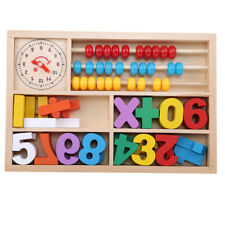 Baby Colorful Wooden Toy Mathematics Learning Numbers Educational Blocks Gr
