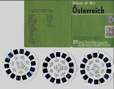 Sawyers VIEW MASTER : ÖSTERREICH  (Nations du Monde) - 3 disques/reels  C 660