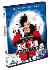 101 Dalmatians Hugh Laurie, Glenn Close, Joan Plowright NEW UK REAGION 2 DVD