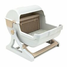 AUTOMATIC INDOOR QUICK CLEAN CLEANING CAT LITTER BOX LUXURY CAT TOILET NEW