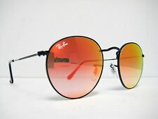 new authentic RAY BAN Sunglass RB3447 002/4W Black / Mirrored Gradient Red 50mm