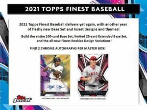 2021 Topps Finest | Break | 1 Box | 2 Random Teams | #W2
