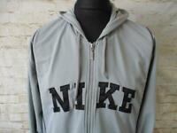 MENS NIKE HOODED TRACKSUIT TOP SIZE L / REF S0473