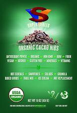 Raw Organic Cacao Nibs 1 lb Cocoa