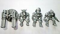 Necro Nazi Cyborgs Phobos Squad, Necros, 3 Russian Plastic Battle Beasts, New