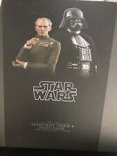 Hot Toys 1/6 Star Wars Episode IV New Hope Grand Moff Tarkin Darth Vader MMS434