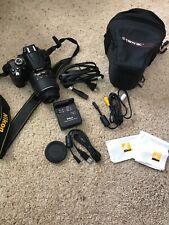 Nikon D D5000 12.3MP Digital SLR Camera - Black (Kit w/ AF-S DX VR 18-55mm Lens)
