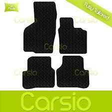 Black Fully Tailored Rubber Car Floor Mats For Volkswagen Passat B6 2005-2011