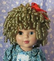Monique CURLY SUE Blond Full Adj. Cap Size 12-13 Super Curly Moppet