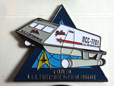 "Star Trek Galileo Shuttle MicroFleet DELUXE 2+"" Cloisonne Pin-FREE S&H (STSH011)"